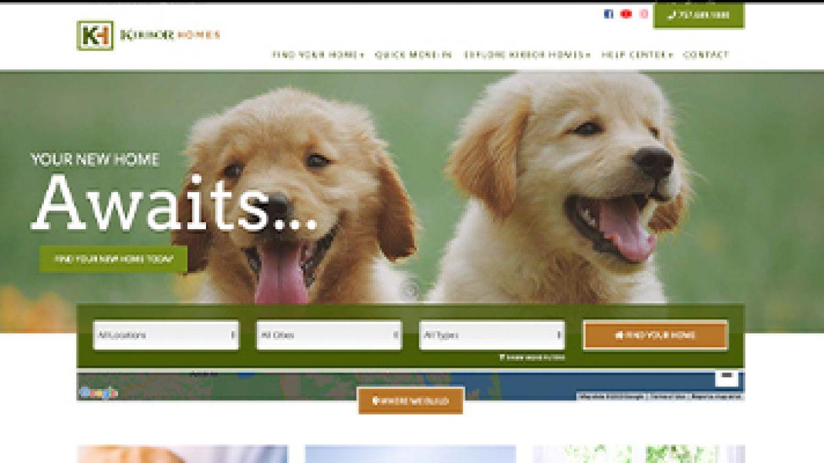 kirbor homes website