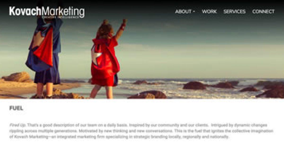 kovach-marketing-website