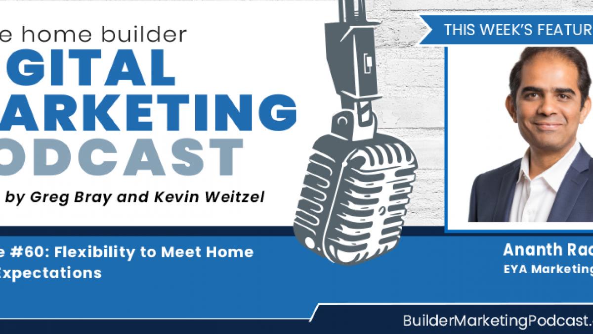 Ananth Rao home builder digital marketing Podcast