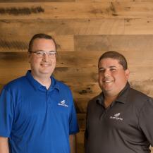 Greg Bray and Erik Martinez