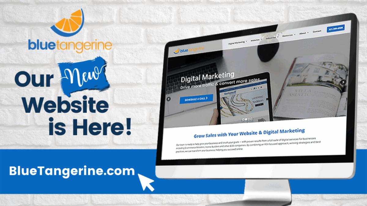 Blue Tangerine New Website